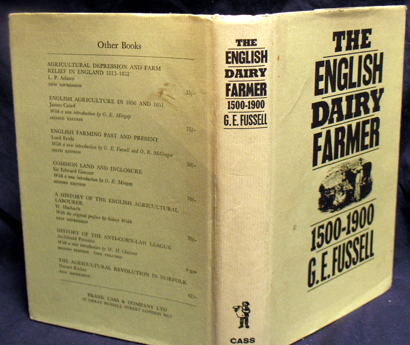 Image for The English Dairy Farmer 1500- 1900.