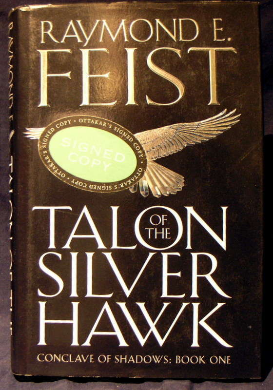 Image for Talon of the Silver Hawk : Conclave of the Shadows : Book One.