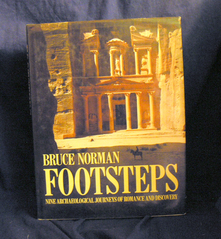 Image for Footsteps Nine Archaeological Journeys of Romance and Discovery.