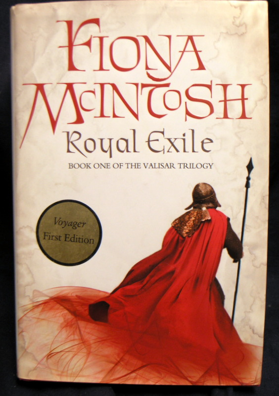 Image for Royal Exile Book One of the Valisar Trilogy