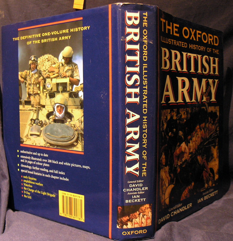 Image for The Oxford Illustrated History of the British Army