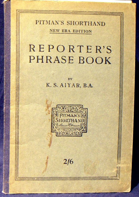 Image for Reporters Phrase Book