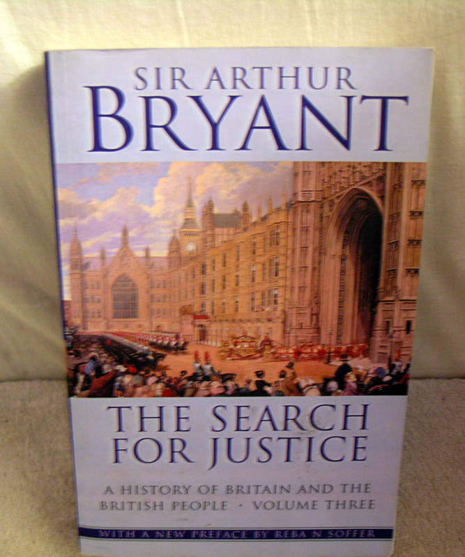 Image for The Search for Justice a History of Britain and the British People Volume Three