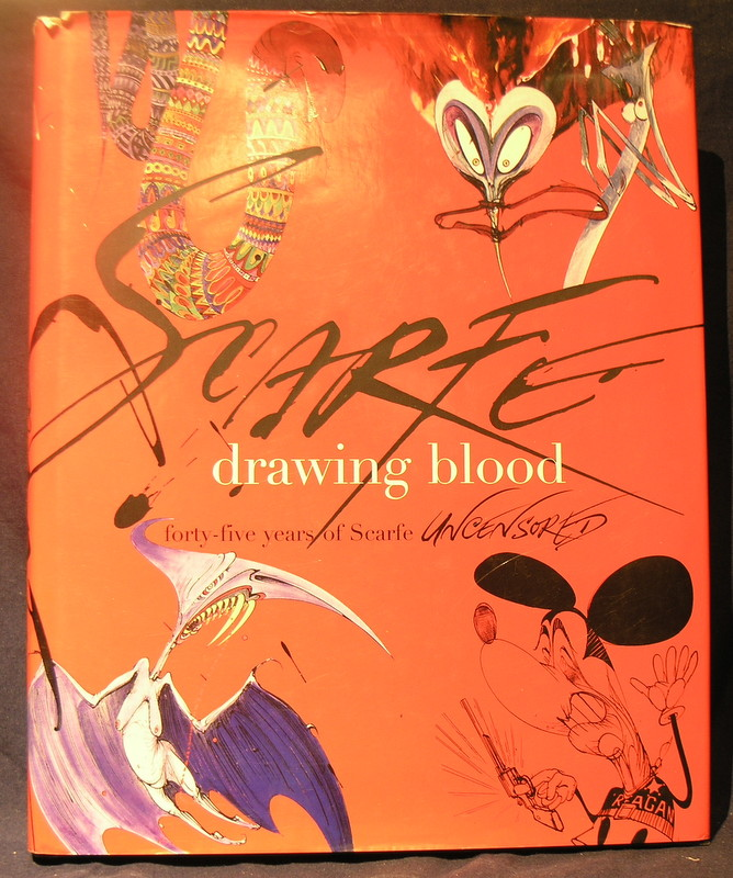 Image for Drawing Blood : Forty-Five Years of Scarfe Uncensored
