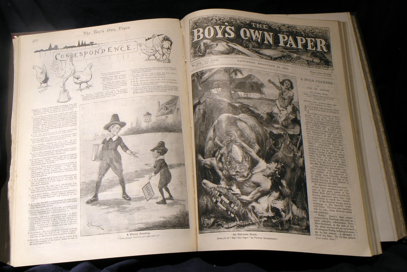 Image for The Boys Own Annual : 22nd Annual Volume 1899-1900