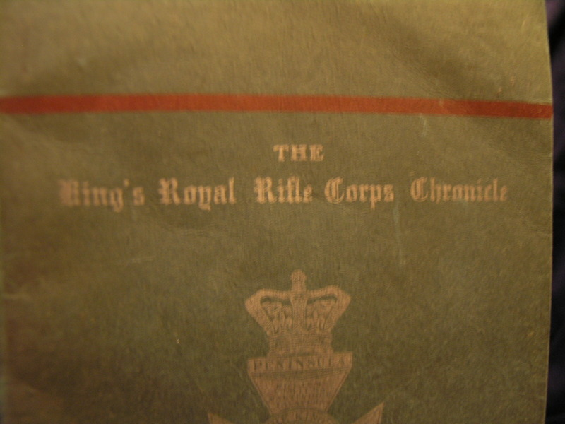 Image for The kings Royal Rifle Corps Chronicle 1942