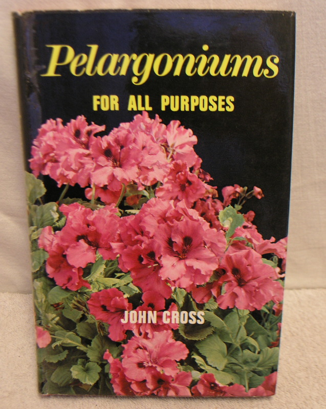 Image for Pelargoniums for all purposes