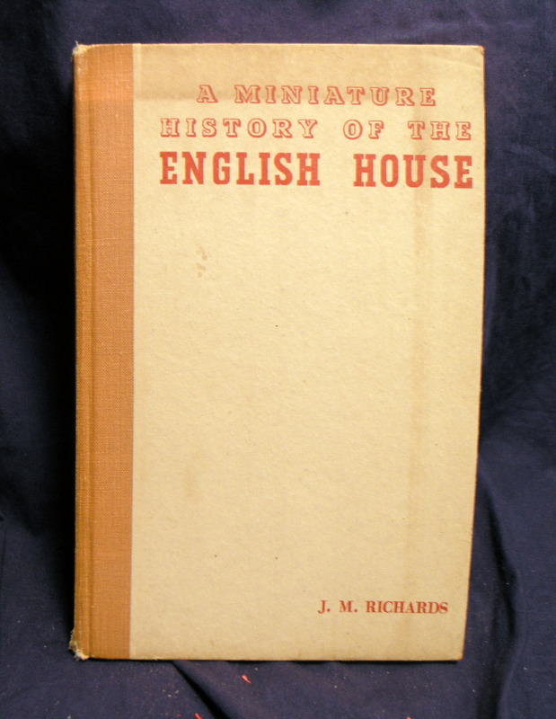 Image for A Miniature History of the English House.