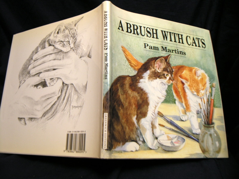 Image for A brush with cats.