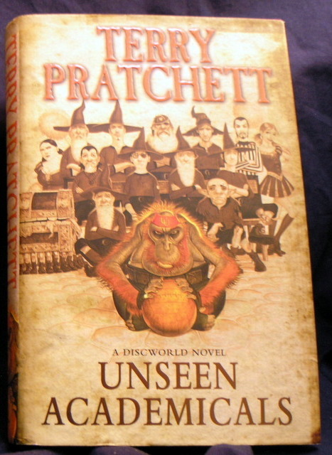 Image for Unseen Academicals : A Discworld Novel.