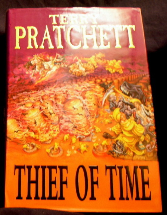 Image for Thief of time.