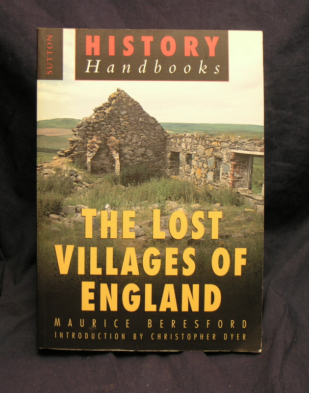 Image for The Lost Villages of England (History Handbooks)