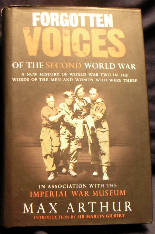 Image for Forgotten Voices of the Second World War.