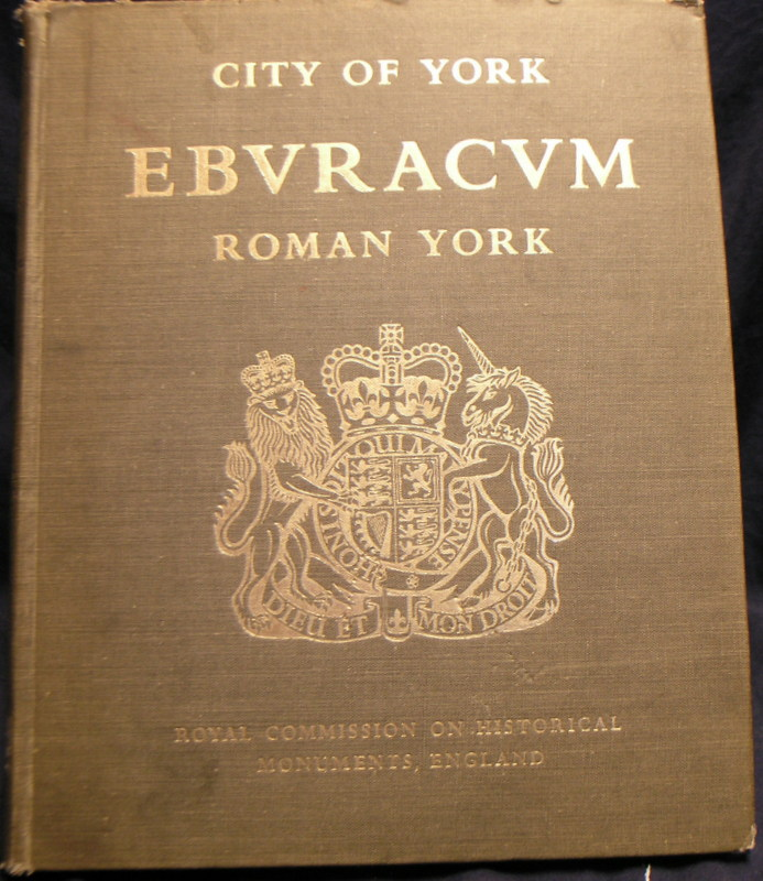 Image for City of York : EBVRACVM Roman York : Vol 1