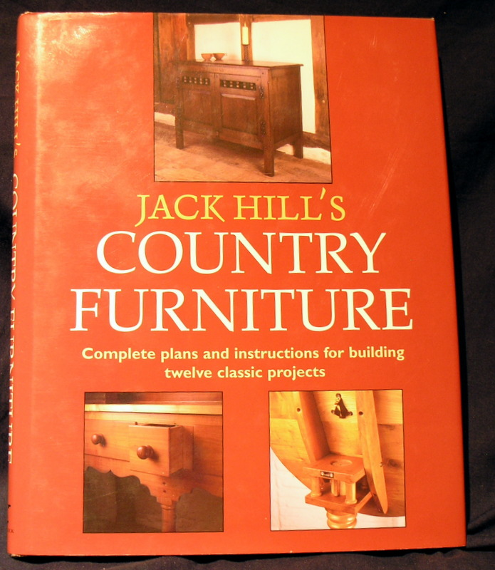 Image for Jack Hill's Country Furniture: Complete plans and instructions for building twelve classic projects.