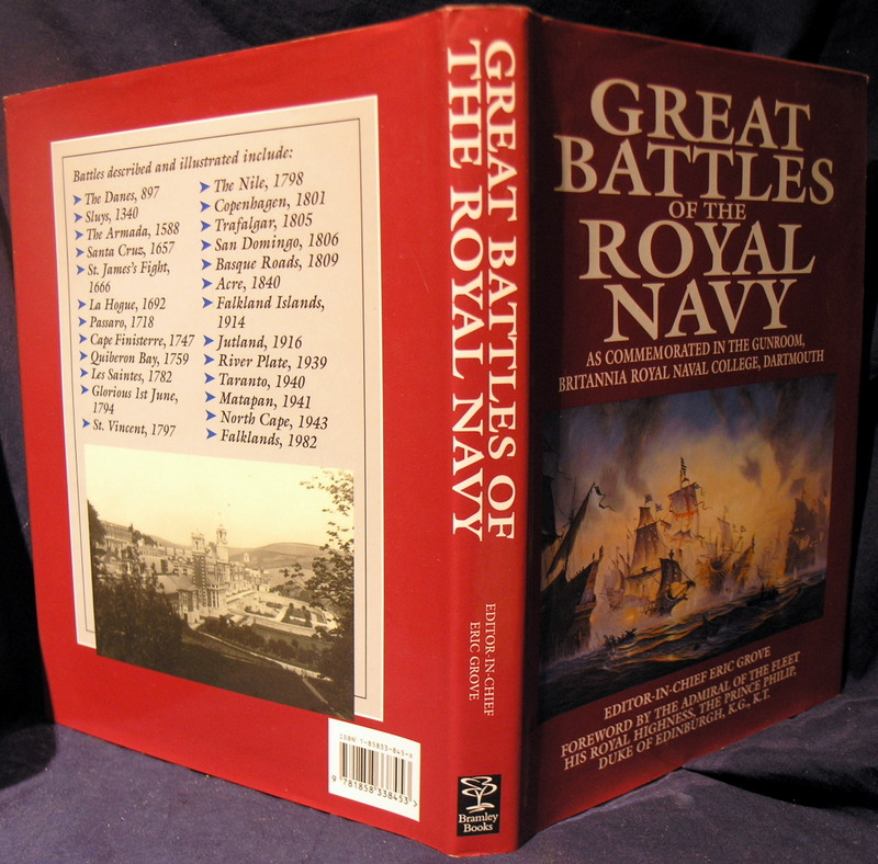 Image for Great Battles of the Royal Navy: As Commemorated in the Gunroom, Britannia Royal Naval College, Dartmouth