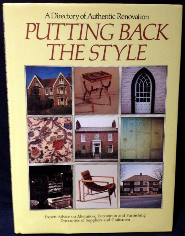 Image for Putting Back the Style: Directory of Authentic Renovation