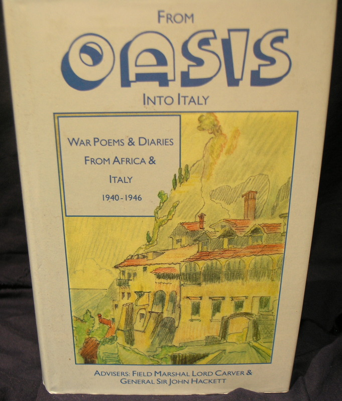 Image for From Oasis into Italy: War Poems and Diaries from Africa and Italy, 1940-1946