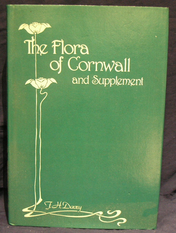 Image for The Flora of Cornwall and Supplement.
