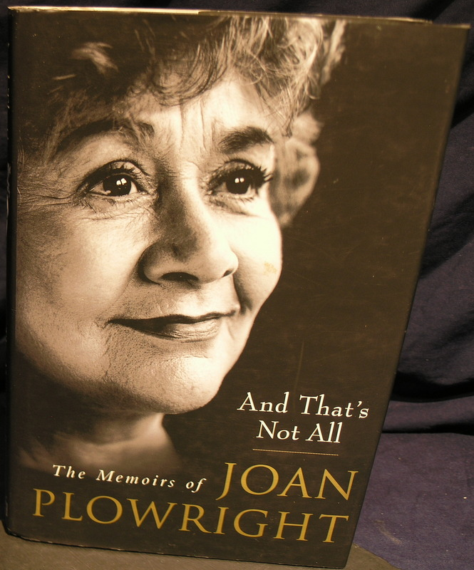Image for And That's Not All: The Memoirs of Joan Plowright.