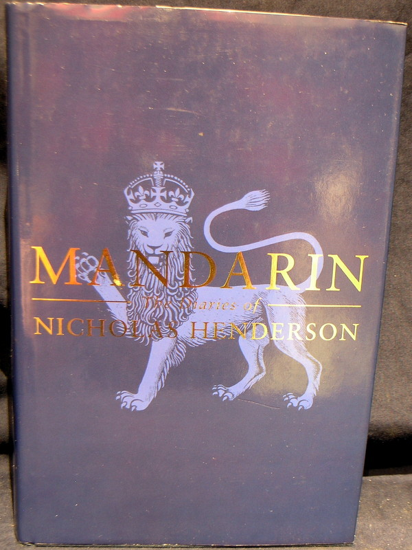 Image for Mandarin: The Diaries of an Ambassador 1969-1982