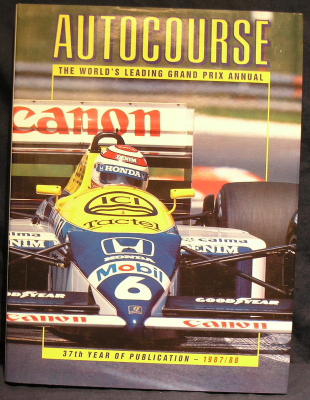 Image for Autocourse 1987-88; 37th Year of Publication