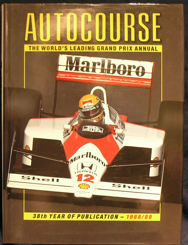 Image for Autocourse: 1988/89 38th Year of Publication