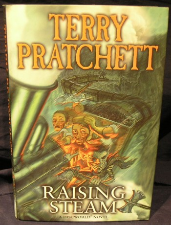Image for Raising Steam : A DiscWorld Novel