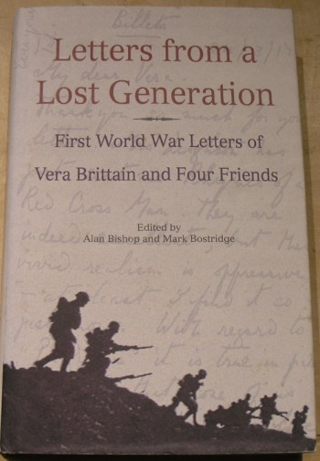 Image for Letters From A Lost Generation: First World War Letters of Vera Brittain and Four Friends