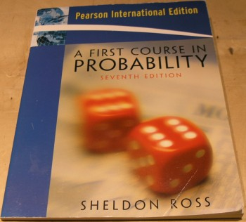 Image for A First Course in Probability: International Edition