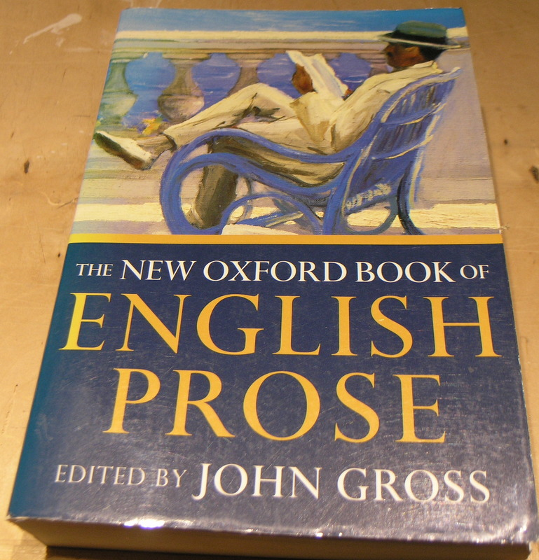 Image for The New Oxford Book of English Prose.